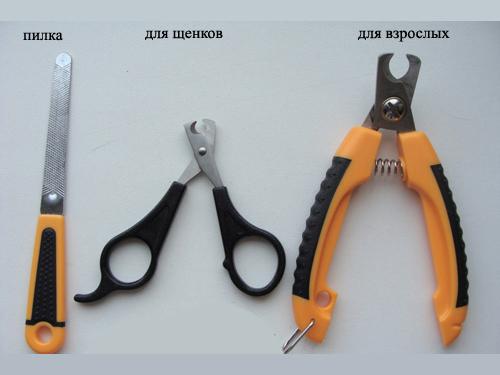 Инструменты для стрижки когтей