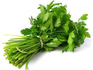Петрушка - источник витамина С