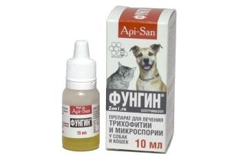 Польза Фунгина для кошек