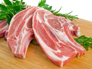 Мясо в основе рациона немецкой овчарки