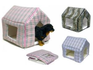 Складывающийся мягкий  домик для собаки