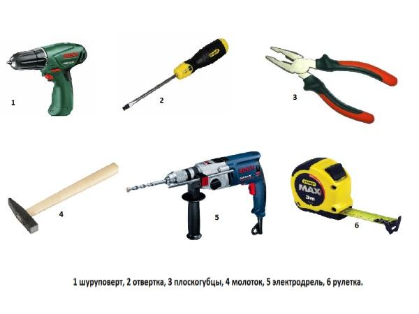 Инструменты для изготовления клетки