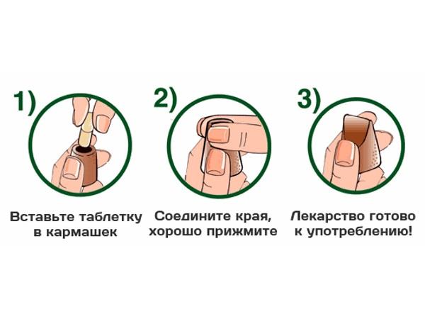 Применение капсулы для таблеток