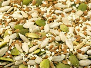 Кормление хомяка семенами и зернами