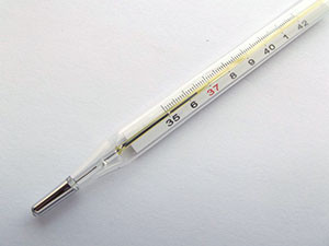 Высокая температура при ентерите
